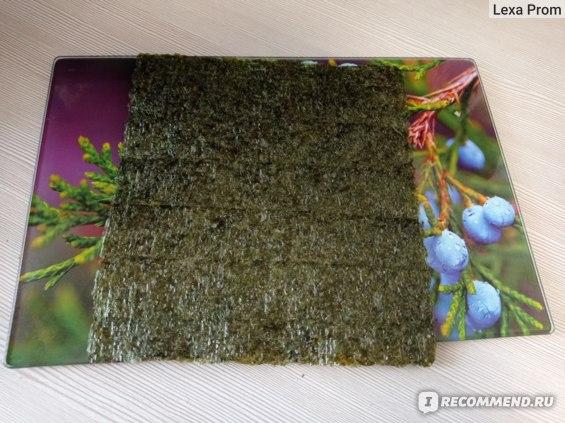 Морская капуста Sen Soy / Сэн Сой Суши нори. Морские водоросли для приготовления роллов фото