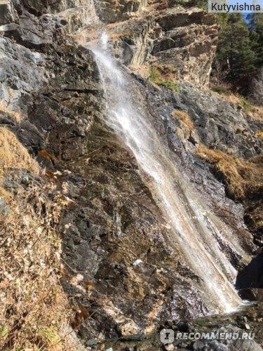 Баритовый водопад, пос. Архыз, Карачаево-Черкесия фото