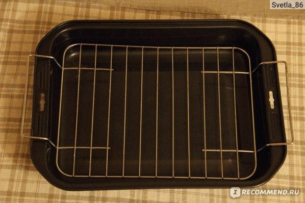 Форма для выпечки TESCOMA глубокая с решеткой SAPHIR фото