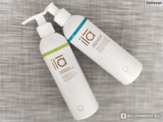 Кондиционер для волос Ila-Spa Nourishing  фото
