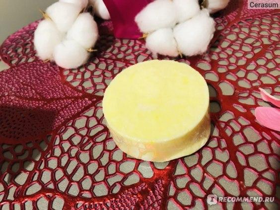 Твердый шампунь Savonry MELON (с экстрактом дыни, гладкость и блеск)