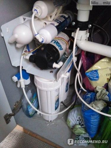 Фильтр для воды с обратным осмосом АкваКИТ RX 50 B-1 фото