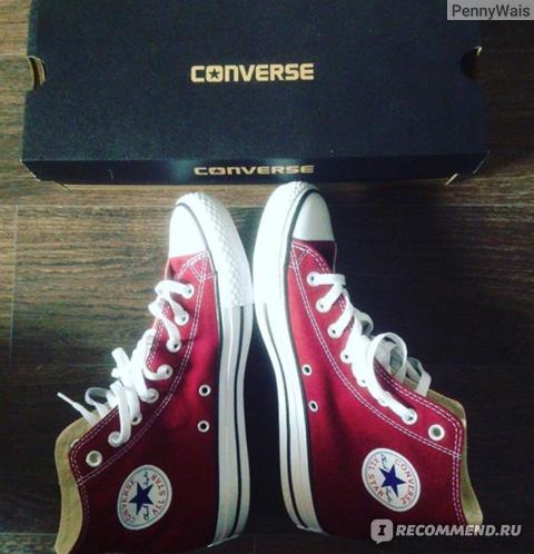 Кеды Converse All star фото