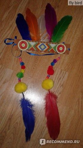 Набор для детского творчества Bondibon Арт. ВВ2060 Индейская корона фото