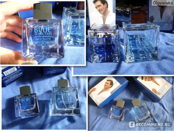 Antonio Banderas Blue Seduction For Men фото