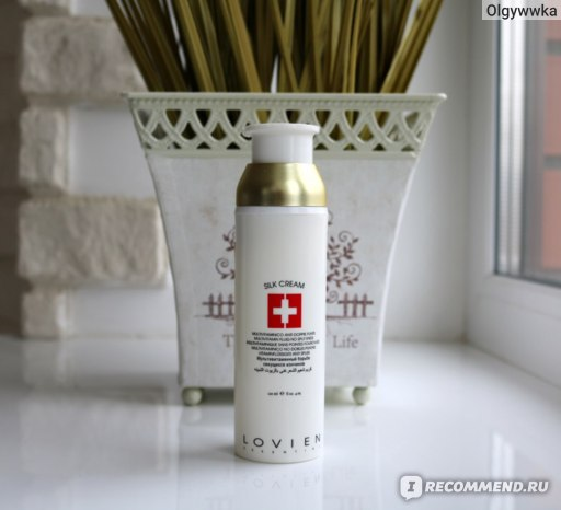 Флюид для волос LOVIEN Essential SILK CREAM фото