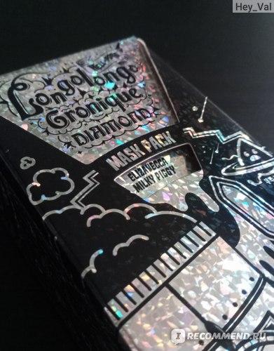 Маска-пленка для кожи лица Elizavecca Milky Piggy Hell-Pore Longolongo Gronique Diamond Mask Pack фото