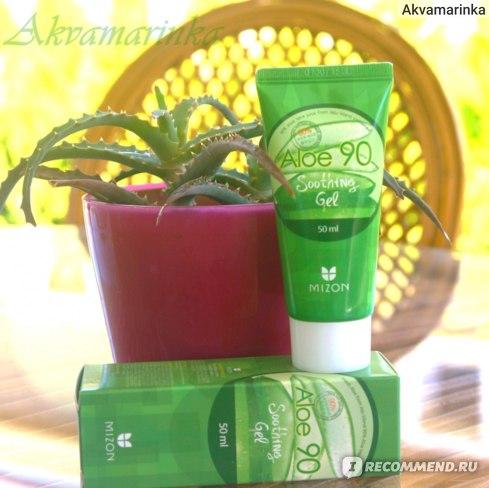 Mizon Aloe 90 Soothing Gel