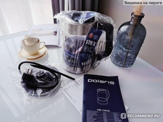 Электрический чайник Polaris PWK 1702CGL фото