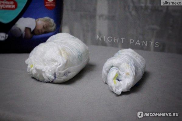 Подгузники-трусики Pampers Ночные трусики фото