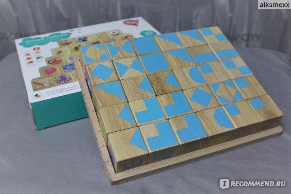 Игровой набор Lucy&Leo Умные кубики Русский алфавит фото