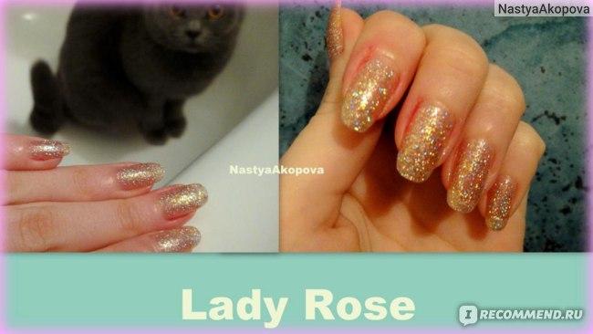Лак для ногтей Lady Rose  фото