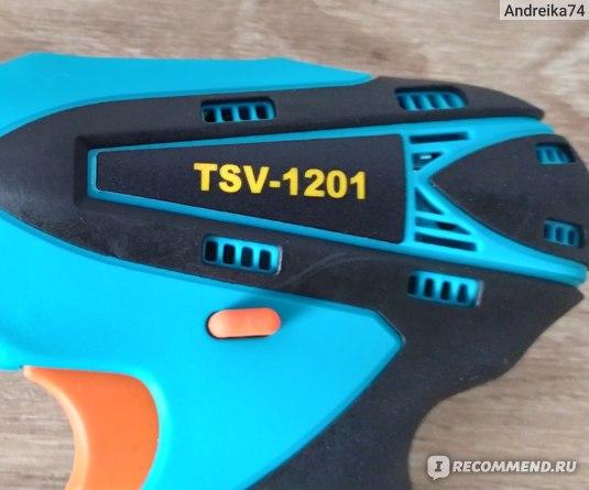 Аккумуляторный шуруповёрт TSV -1201 фото