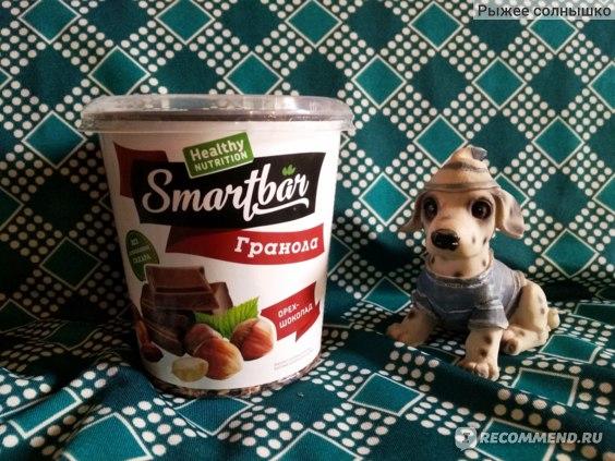 Запеченные завтраки SmartBar Гранола с орехом и шоколадом фото
