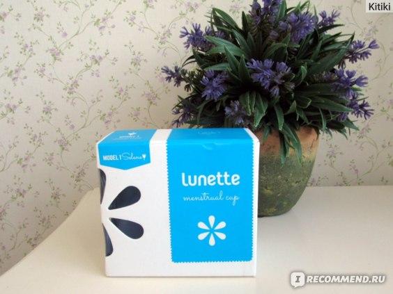 Менструальные капы Lunette фото