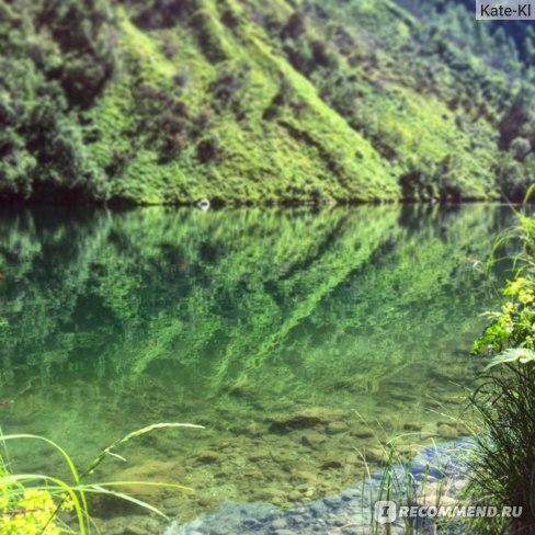Чистейшее горное озеро