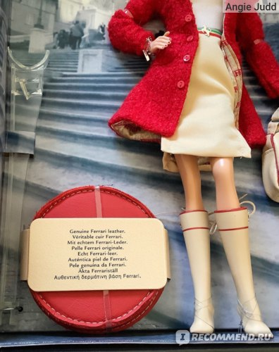 Mattel Кукла Барби Ferrari Barbie Doll H6466 фото