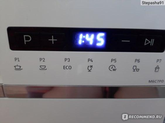 Посудомоечная машина DEXP M6C7PD