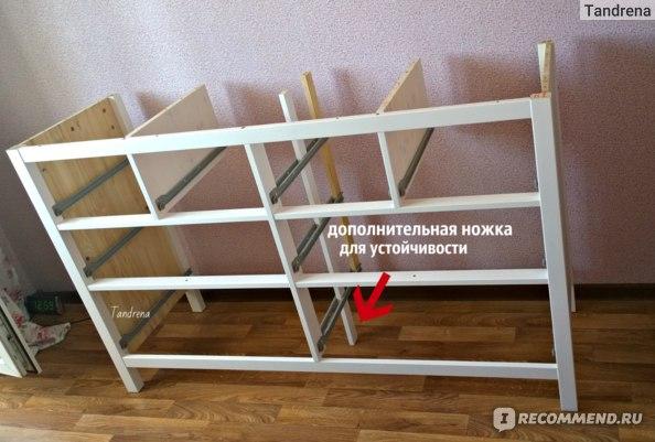 Комод IKEA ХЕМНЭС с 8 ящиками фото