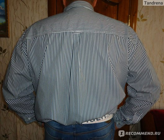 Рубашки Bonprix Рубашка в полоску 93030872 фото
