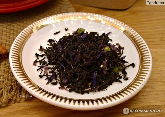 Чай Долина чая с бергамотом Эрл Грей Голубой цветок фото
