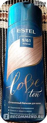 Оттеночный бальзам для волос Estel Love Ton фото