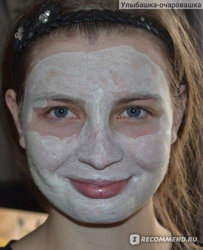 масочка на лице
