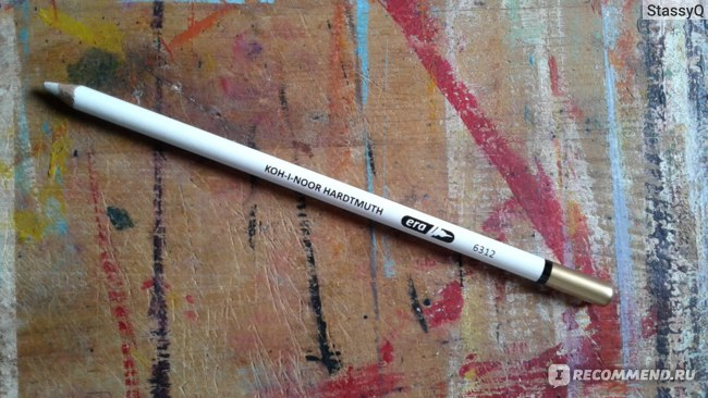 Ластик-карандаш выглядит так