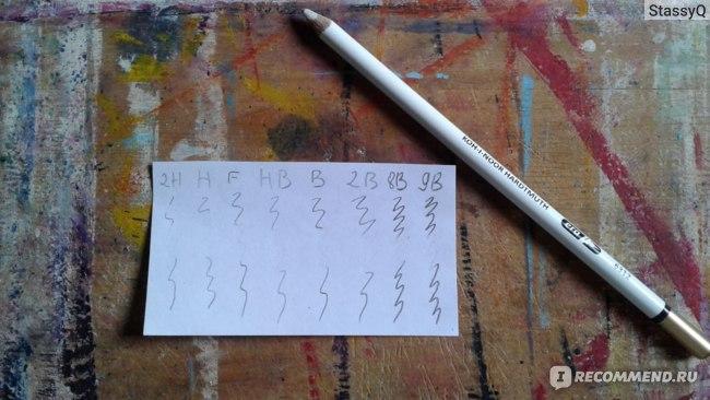 Результат ластика-карандаша