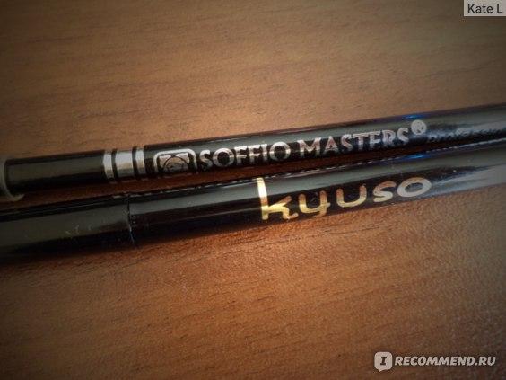 Карандаш для бровей Soffio masters Alessandro Jacubo ультратонкий двусторонний фото