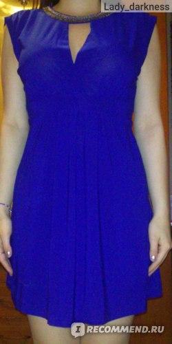 Платье AliExpress SEXY V-NECK OPEN BACK BEADED DRESS 2519 фото