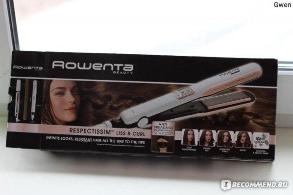 Выпрямитель волос Rowenta RESPECTISSIM LISS & CURL SF 7640D0 фото