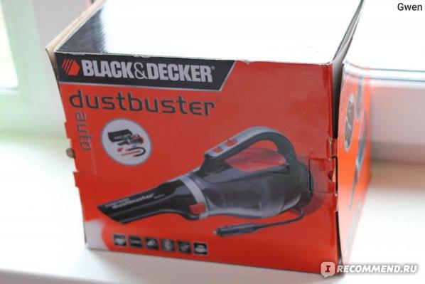 Автомобильный пылесос Black&Decker ADV 1220 фото