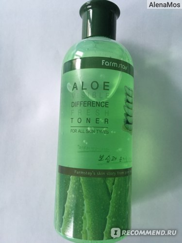 Тонер Farm stay Visible Difference Fresh Toner Aloe фото