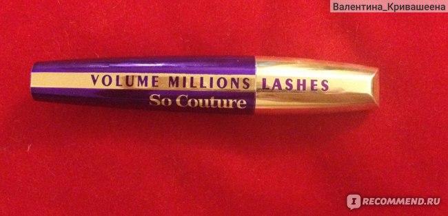 Тушь для ресниц L'Oreal Volume Million Lashes So Couture фото