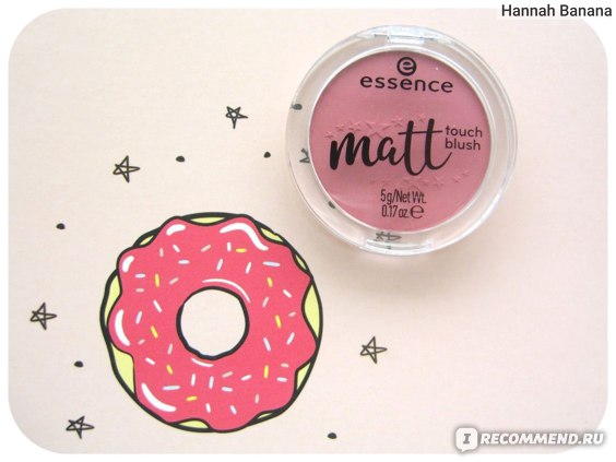 Румяна Essence Matt touch blush