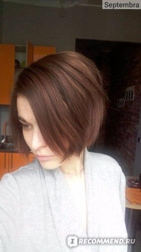Волосы прекрасно держат заданную форму