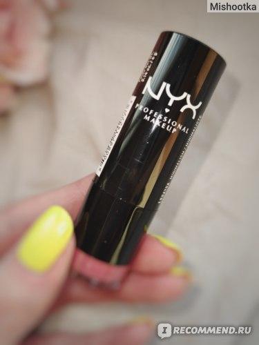 Губная помада NYX Professional Makeup Round lipstick фото