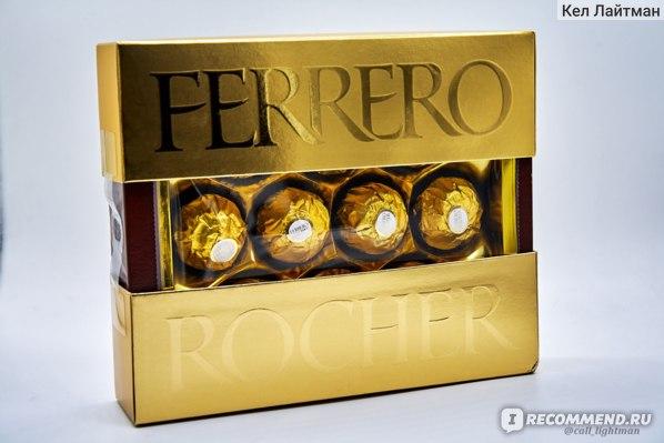 Конфеты FERRERO Rocher Премиум  фото