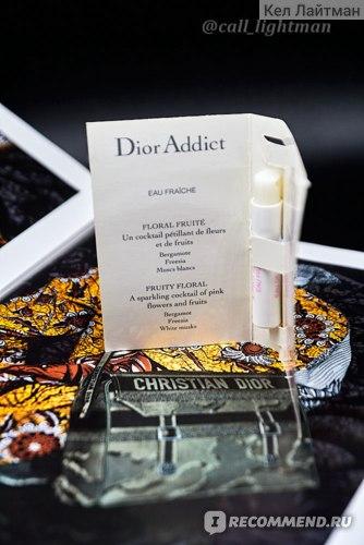 Dior Addict Eau Fraiche фото