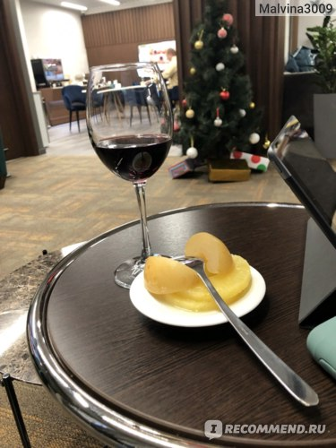 Бокал вина - приветственный напиток