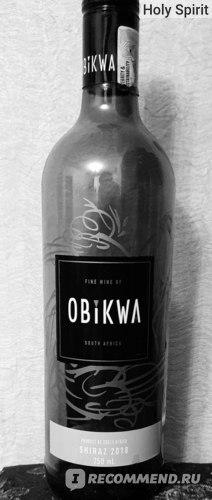 Obikwa Shiraz 2018