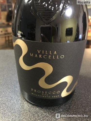 Вино игристое белое брют Villa Marcello Prosecco DOC Millesimato Brut, 2016