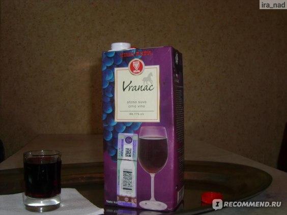 "Вино красное сухое AD ""Vino Zupa"" Вранац фото"