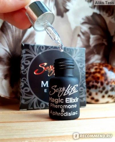 Эфирное масло-афродизиак с феромонами Sexy Life Magic Elixir