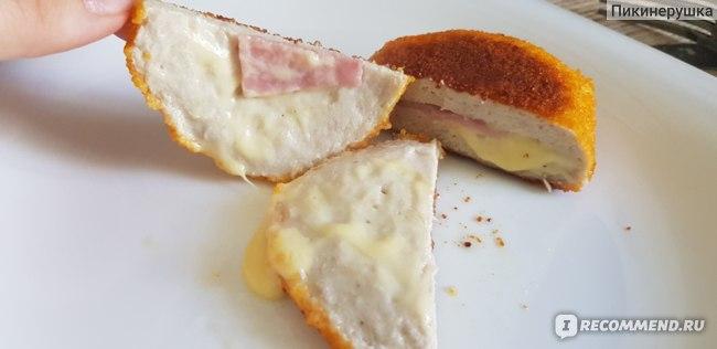Полуфабрикаты Ермолино Кордон блю с сыром и ветчиной фото