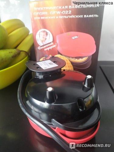Электрическая вафельница GFGril GFW-022 фото