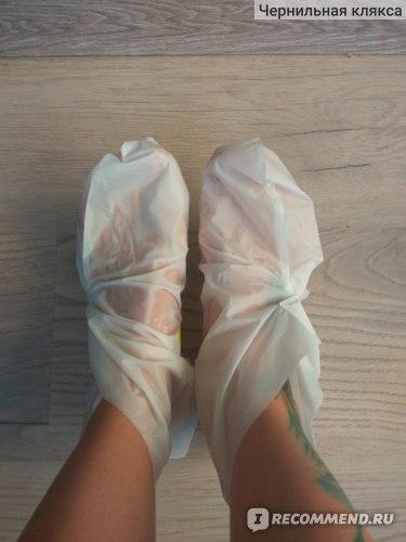 Маска-пилинг Double & Zero для стоп Double effect foot peeling mask фото