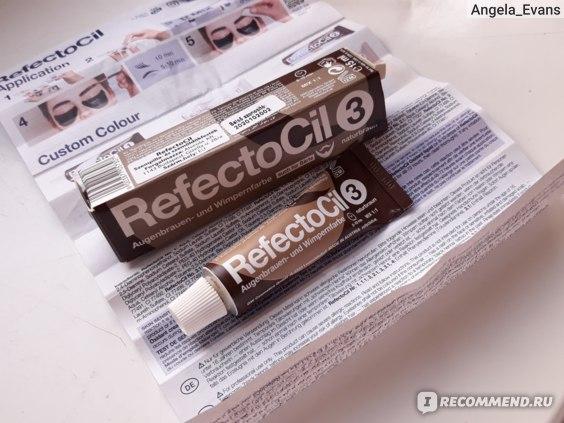 Краска для бровей и ресниц RefectoCil