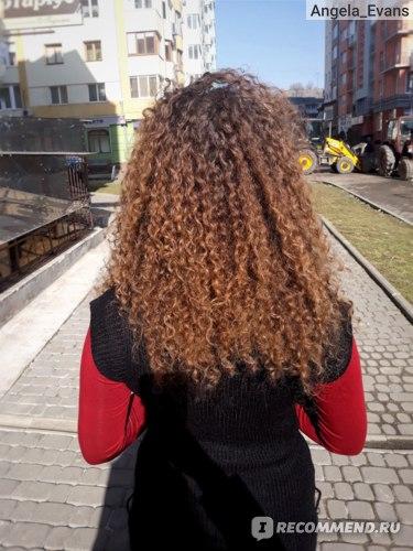 Вот так выглядели мои волосы в хороший день. Без капризов.